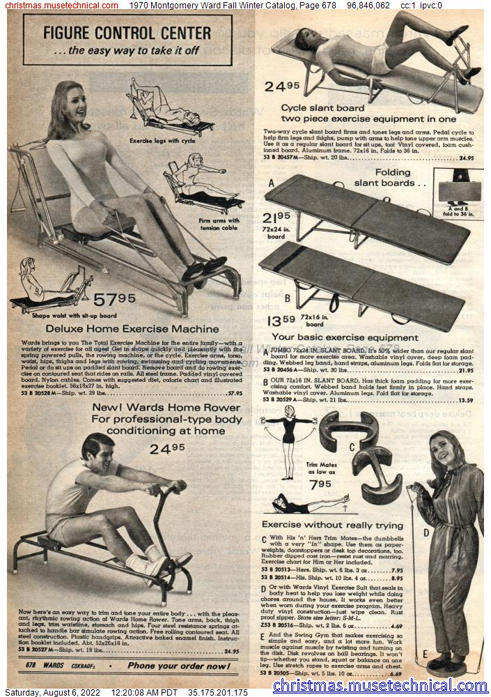 1970 Montgomery Ward Fall Winter Catalog, Page 678