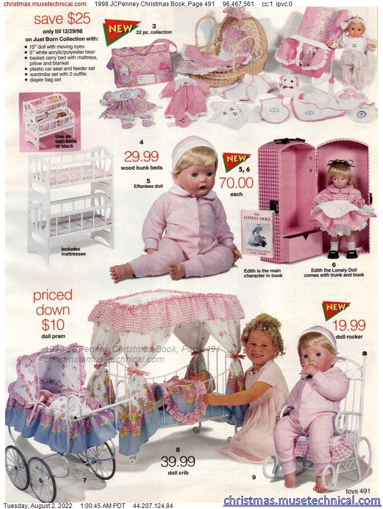 1998 JCPenney Christmas Book, Page 491