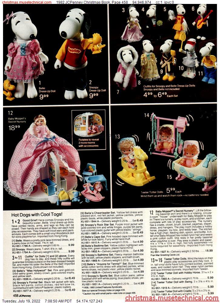 1982 JCPenney Christmas Book, Page 458