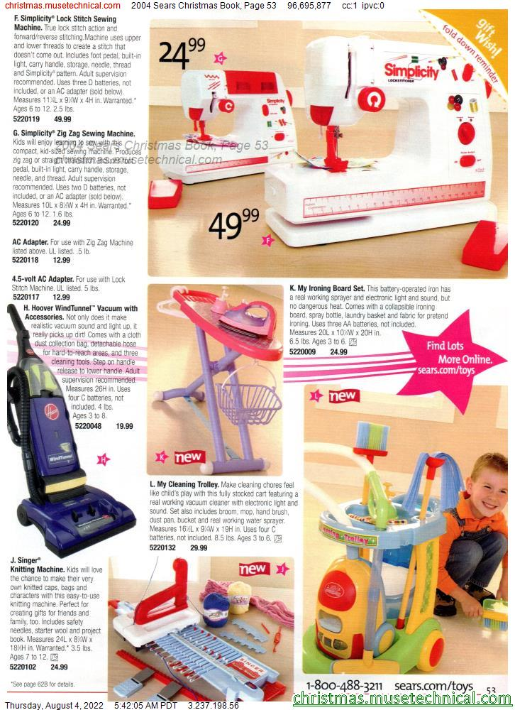 2004 Sears Christmas Book, Page 53