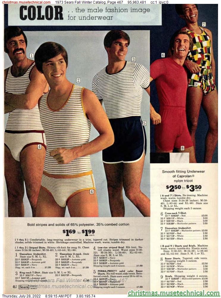 1973 Sears Fall Winter Catalog, Page 467