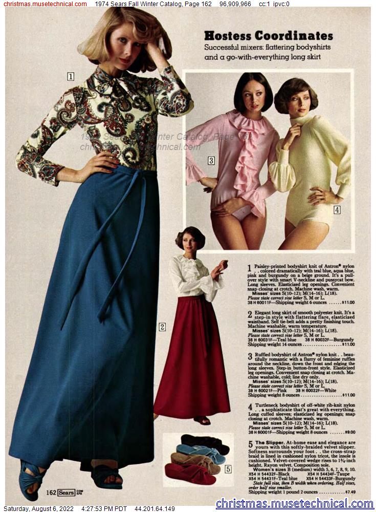 1974 Sears Fall Winter Catalog, Page 162