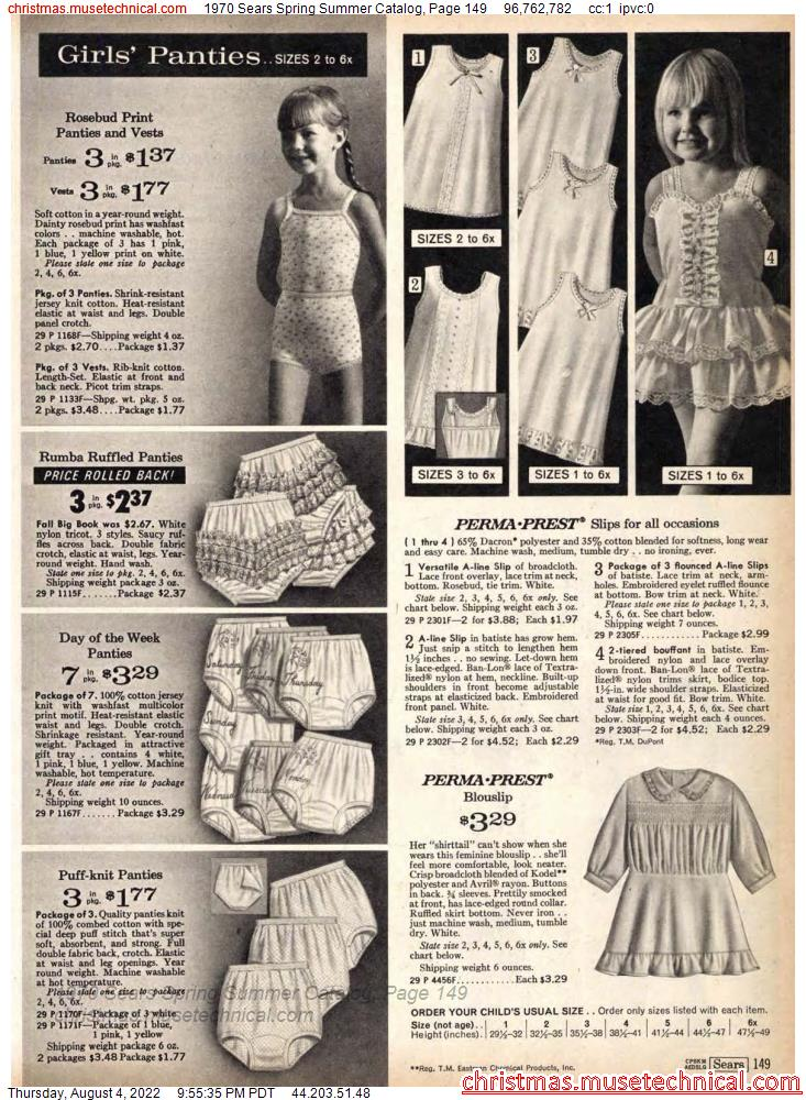 1970 Sears Spring Summer Catalog, Page 149