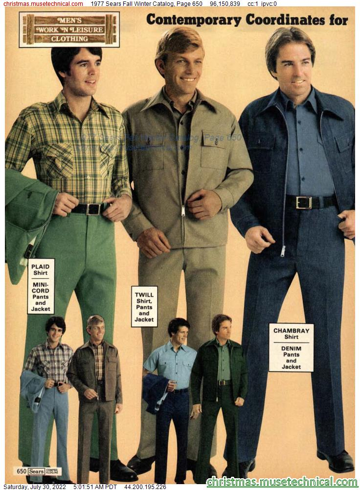 1977 Sears Fall Winter Catalog, Page 650