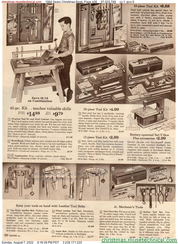 1960 Sears Christmas Book, Page 406