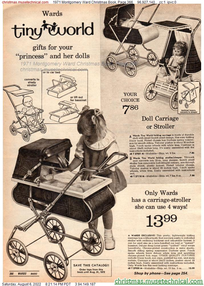 1971 Montgomery Ward Christmas Book, Page 366