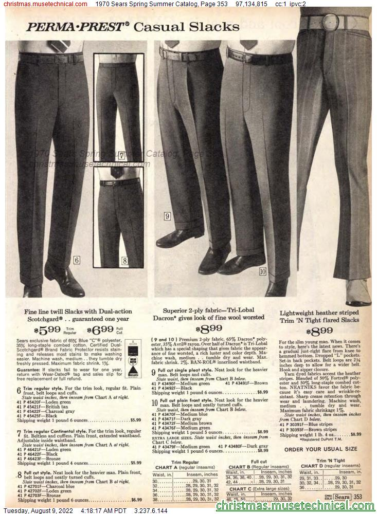 1970 Sears Spring Summer Catalog, Page 353