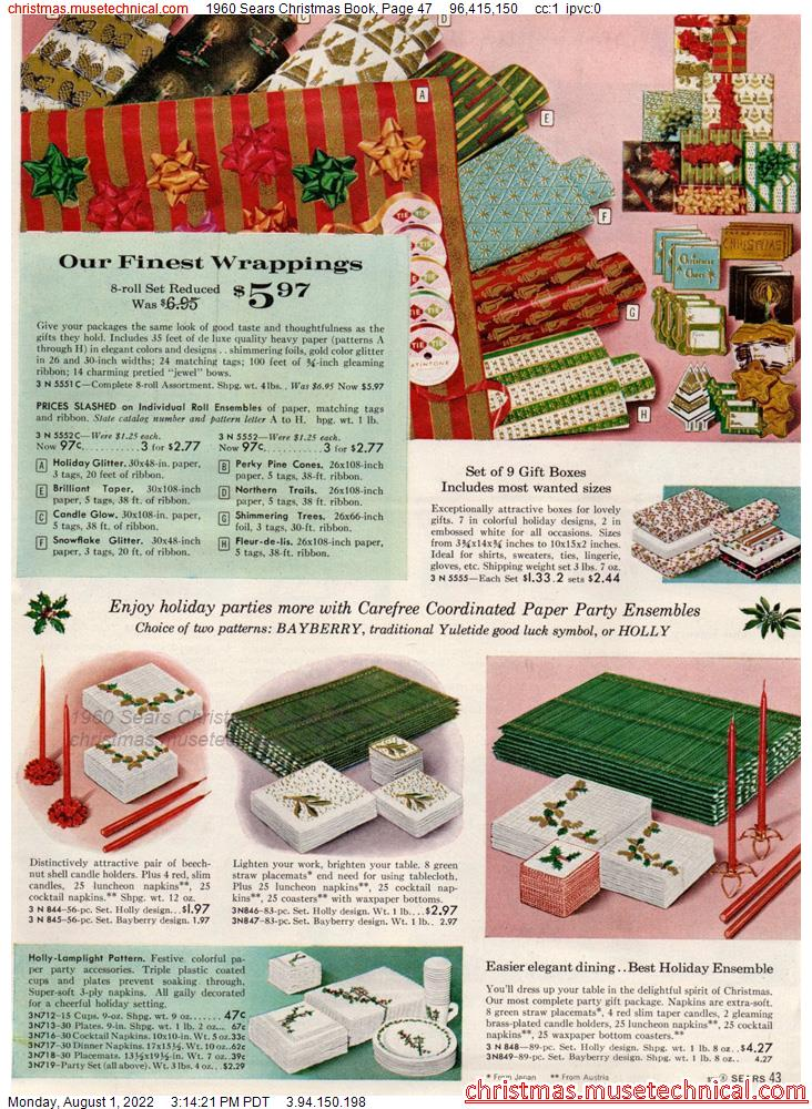 1960 Sears Christmas Book, Page 47