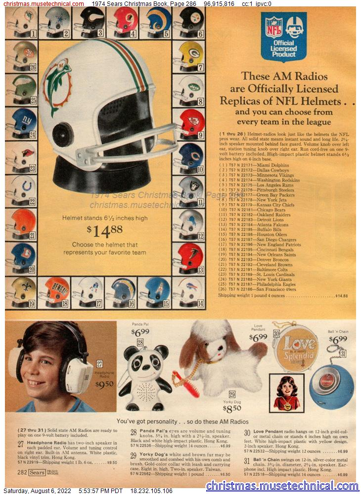 1974 Sears Christmas Book, Page 286