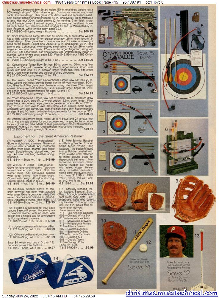 1984 Sears Christmas Book, Page 415