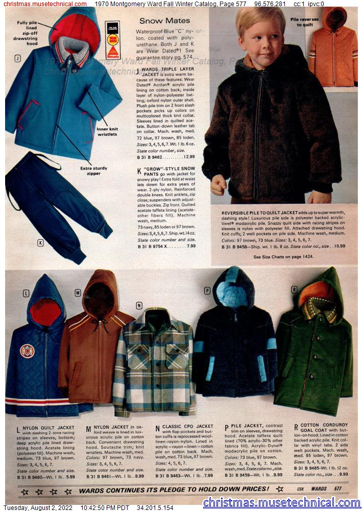1970 Montgomery Ward Fall Winter Catalog, Page 577