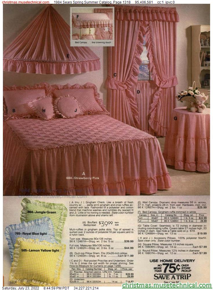1984 Sears Spring Summer Catalog, Page 1318