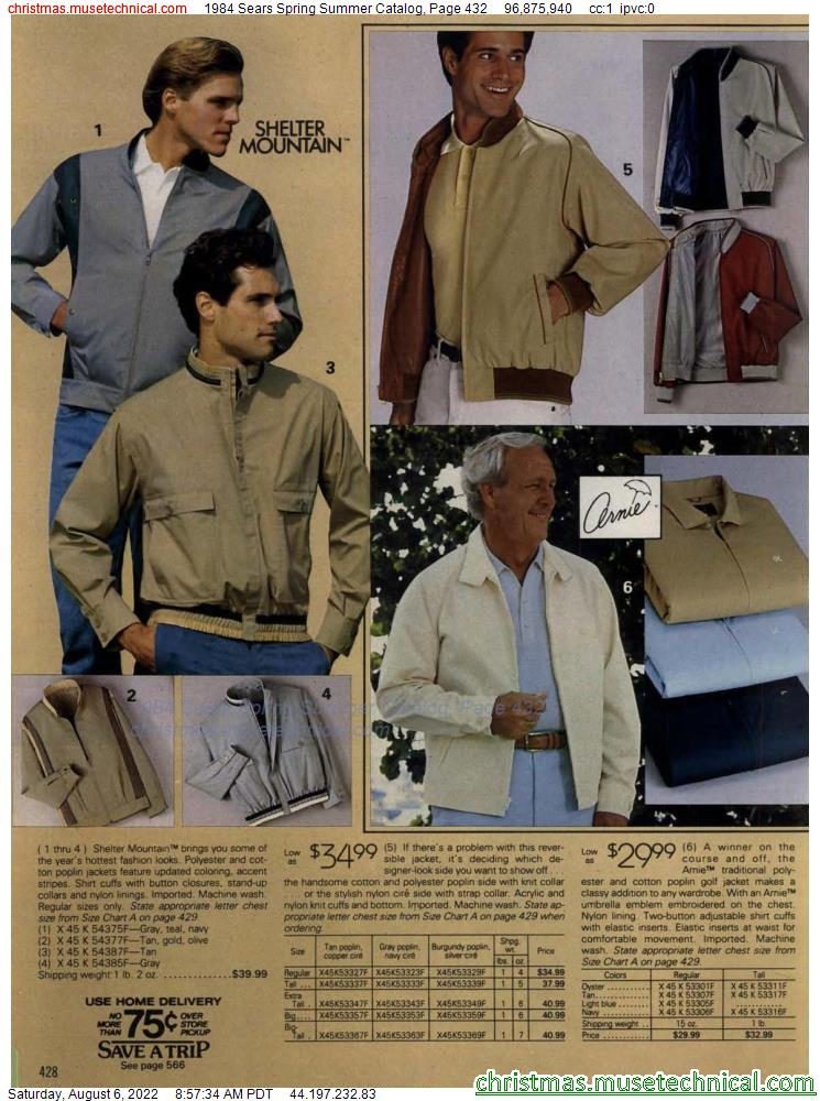 1984 Sears Spring Summer Catalog, Page 432