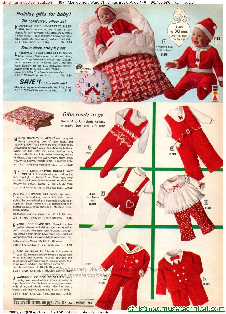 1971 Montgomery Ward Christmas Book, Page 149