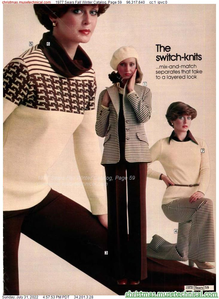 1977 Sears Fall Winter Catalog, Page 59