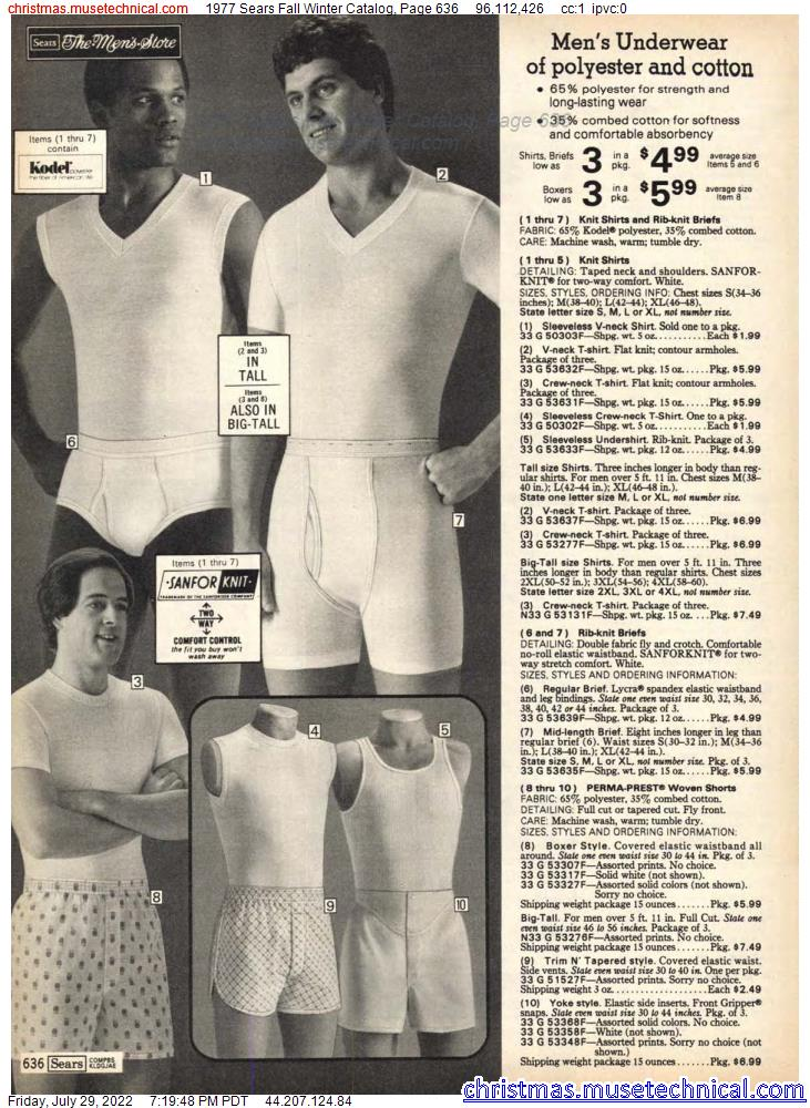 1977 Sears Fall Winter Catalog, Page 636