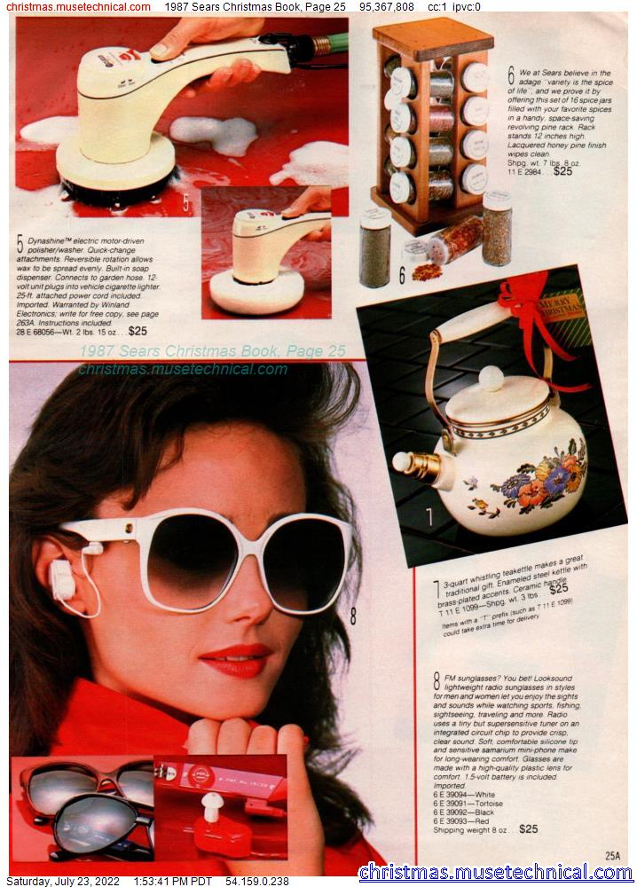 1987 Sears Christmas Book, Page 25