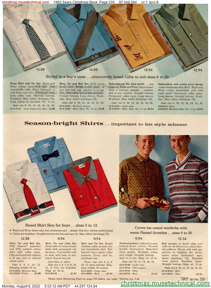1960 Sears Christmas Book, Page 235
