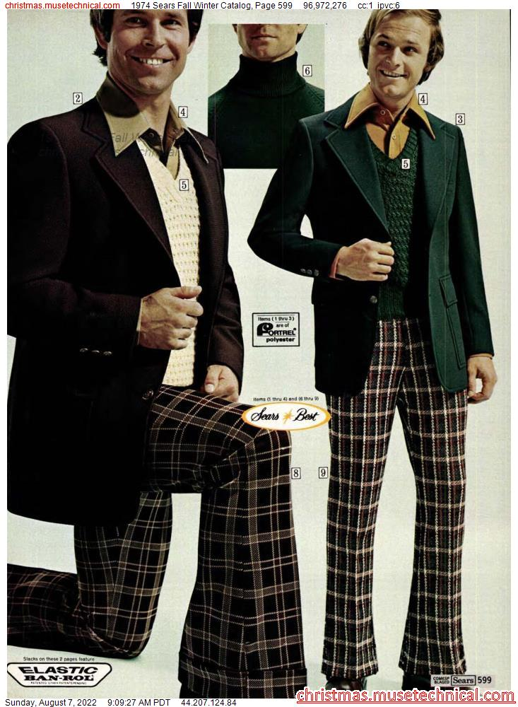 1974 Sears Fall Winter Catalog, Page 599
