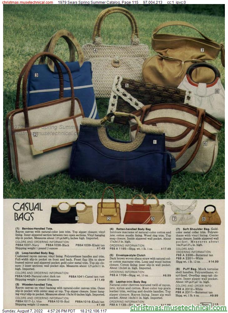 1979 Sears Spring Summer Catalog, Page 115