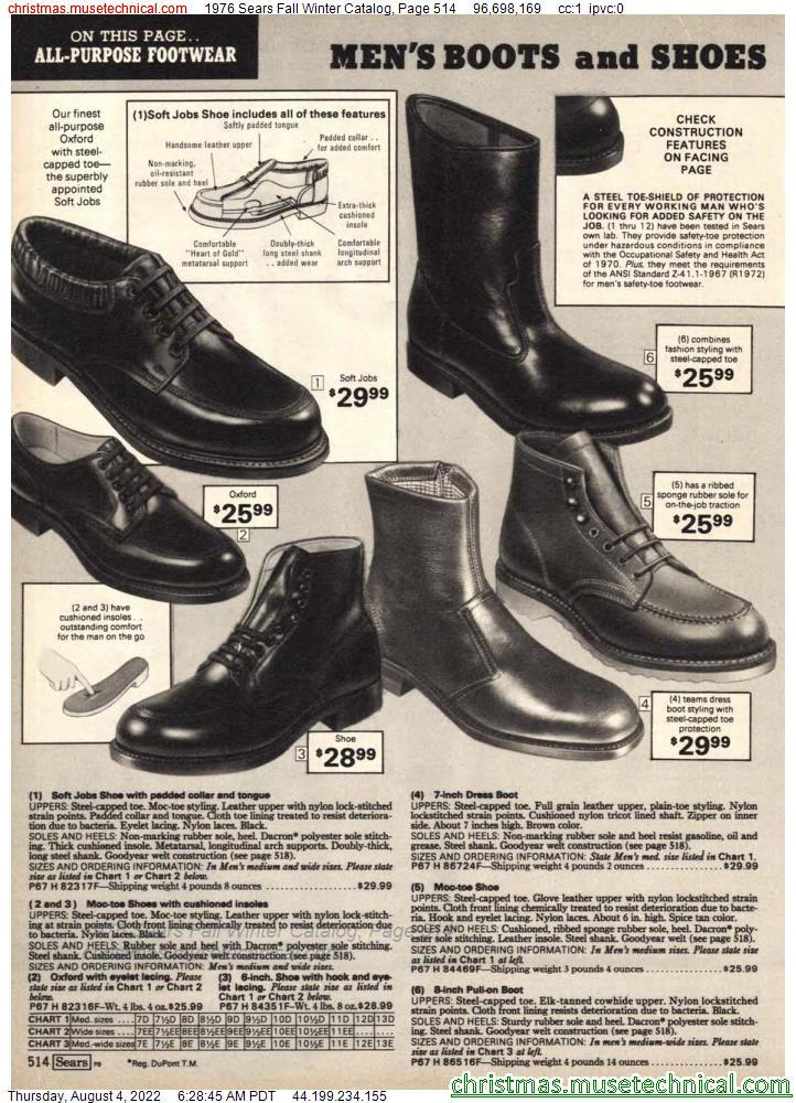 1976 Sears Fall Winter Catalog, Page 514