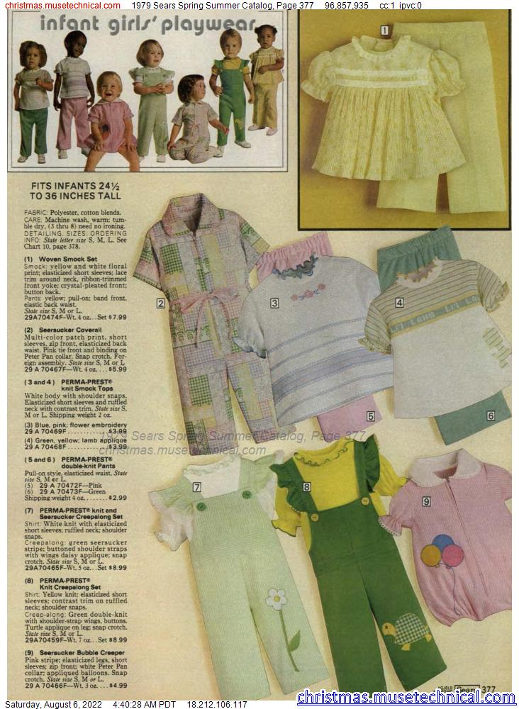 1979 Sears Spring Summer Catalog, Page 377