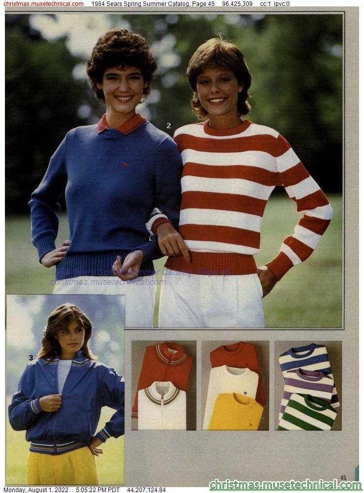 1984 Sears Spring Summer Catalog, Page 45