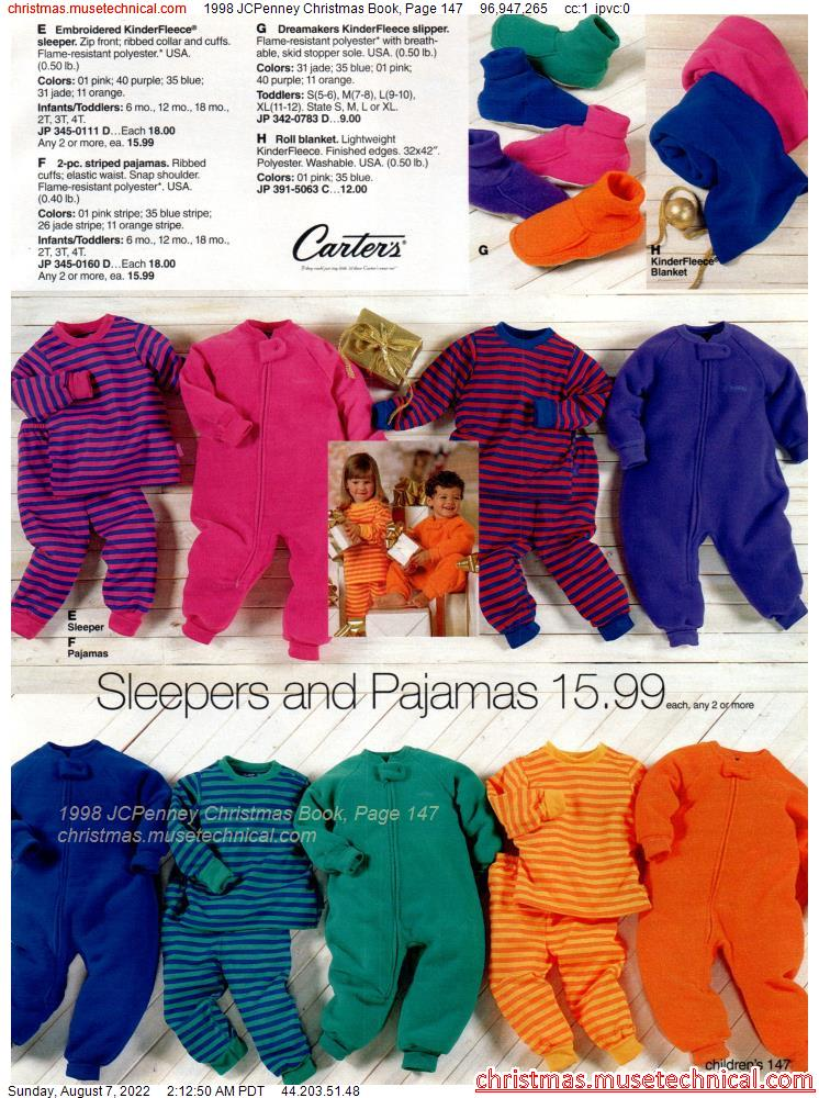 1998 JCPenney Christmas Book, Page 147