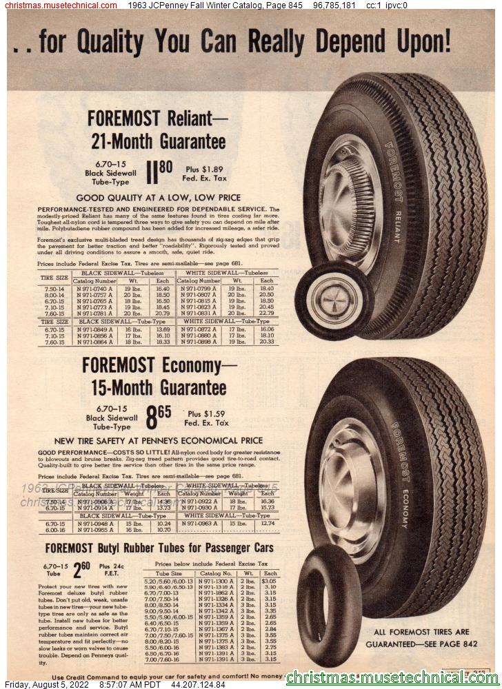 1973 Sears Spring Summer Catalog, Page 845 - Christmas