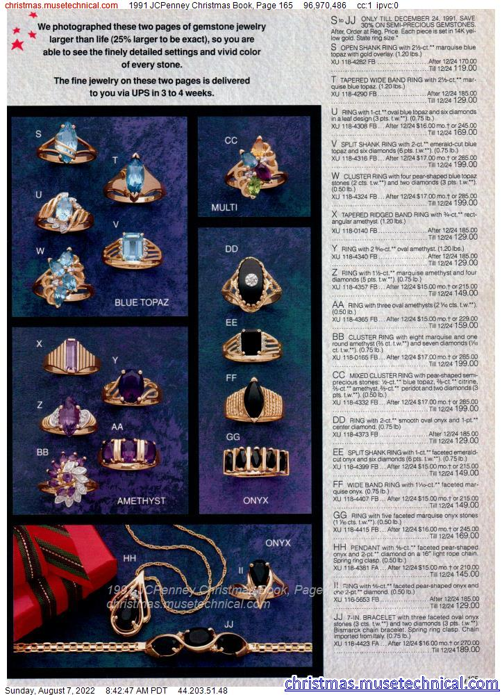1991 JCPenney Christmas Book, Page 165