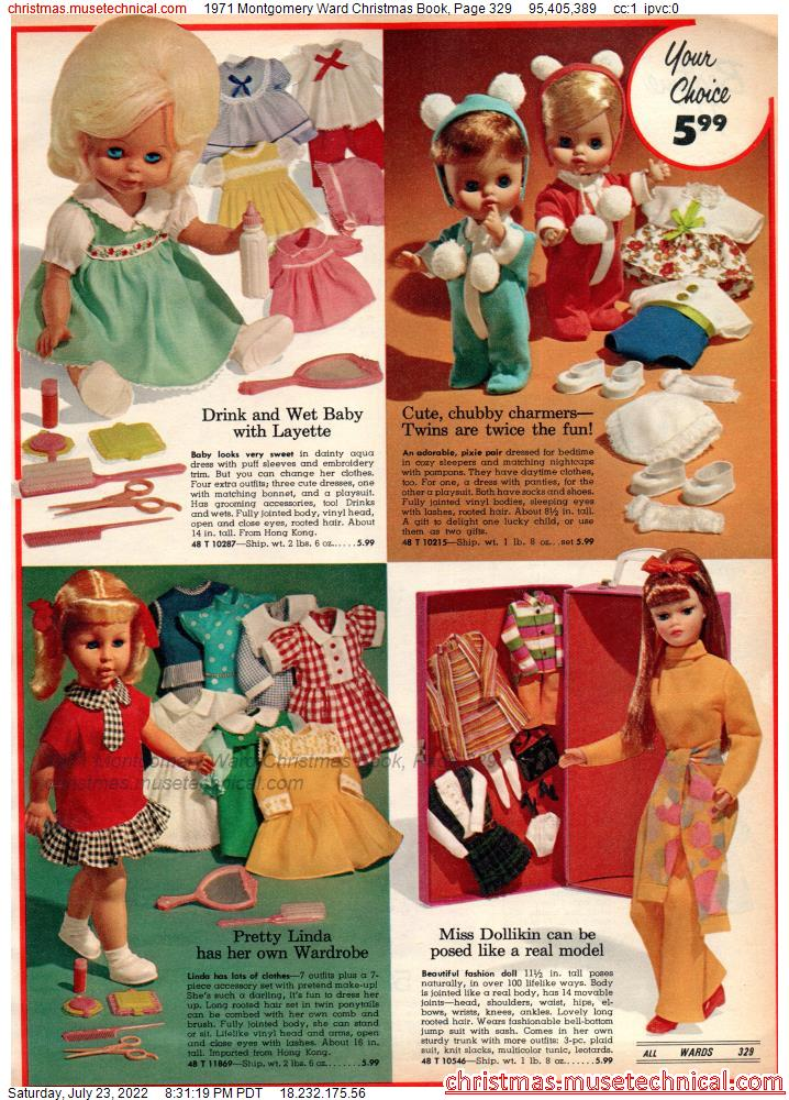 1971 Montgomery Ward Christmas Book, Page 329