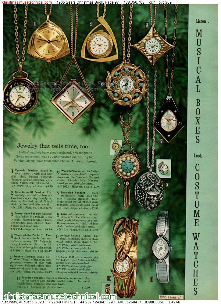 Sears Christmas Photos.1965 Sears Christmas Book Page 97 Christmas Catalogs