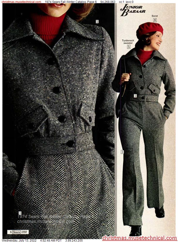 1974 Sears Fall Winter Catalog, Page 6