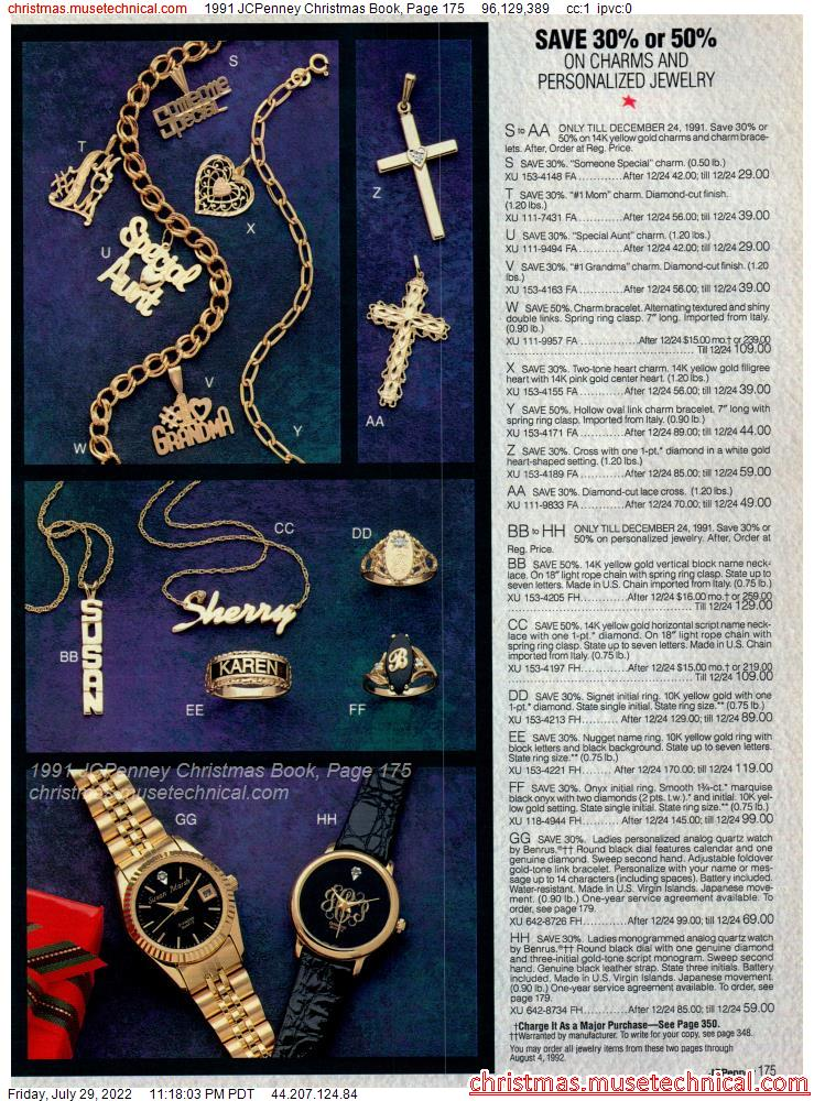 1991 JCPenney Christmas Book, Page 175