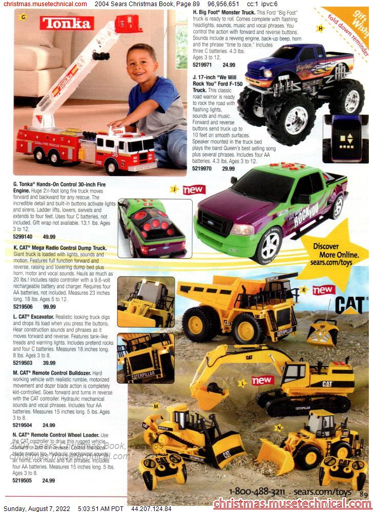 2004 Sears Christmas Book, Page 89