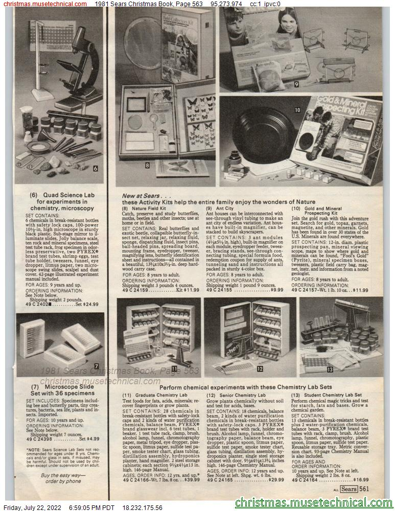 1981 Sears Christmas Book, Page 563