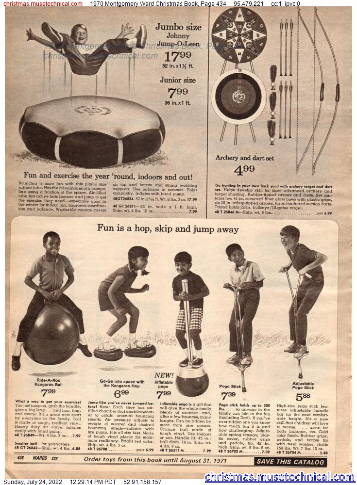 1970 Montgomery Ward Christmas Book, Page 434