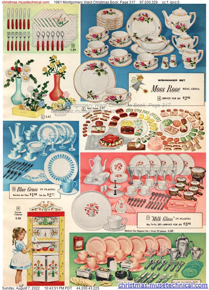 1961 Montgomery Ward Christmas Book, Page 317