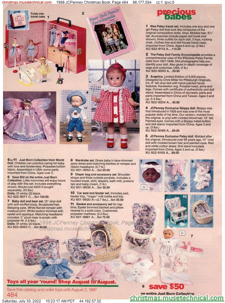 1996 JCPenney Christmas Book, Page 484
