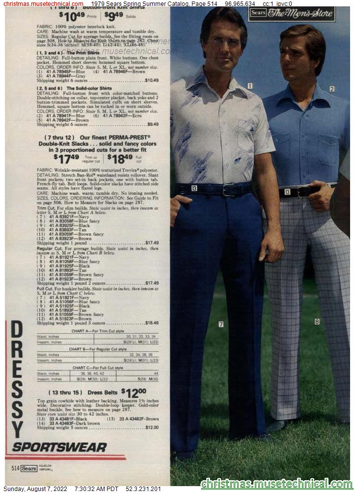 1979 Sears Spring Summer Catalog, Page 514