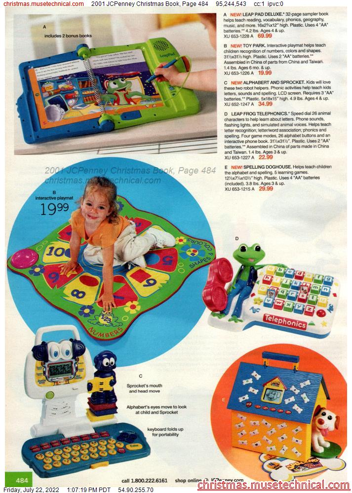 2001 JCPenney Christmas Book, Page 484
