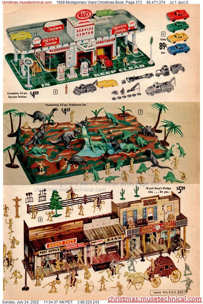 1958 Montgomery Ward Christmas Book, Page 373