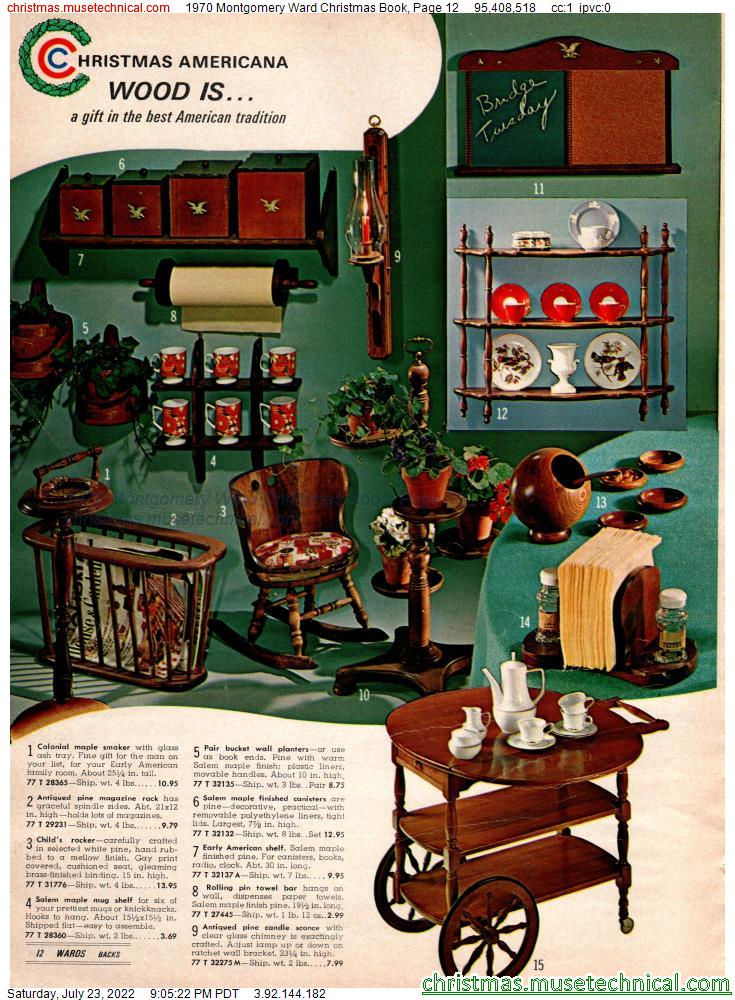 1970 Montgomery Ward Christmas Book, Page 12