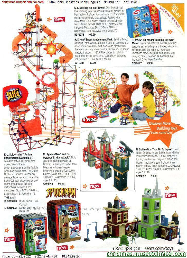 2004 Sears Christmas Book, Page 47