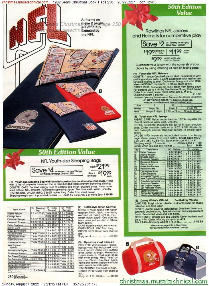 1982 Sears Christmas Book, Page 250