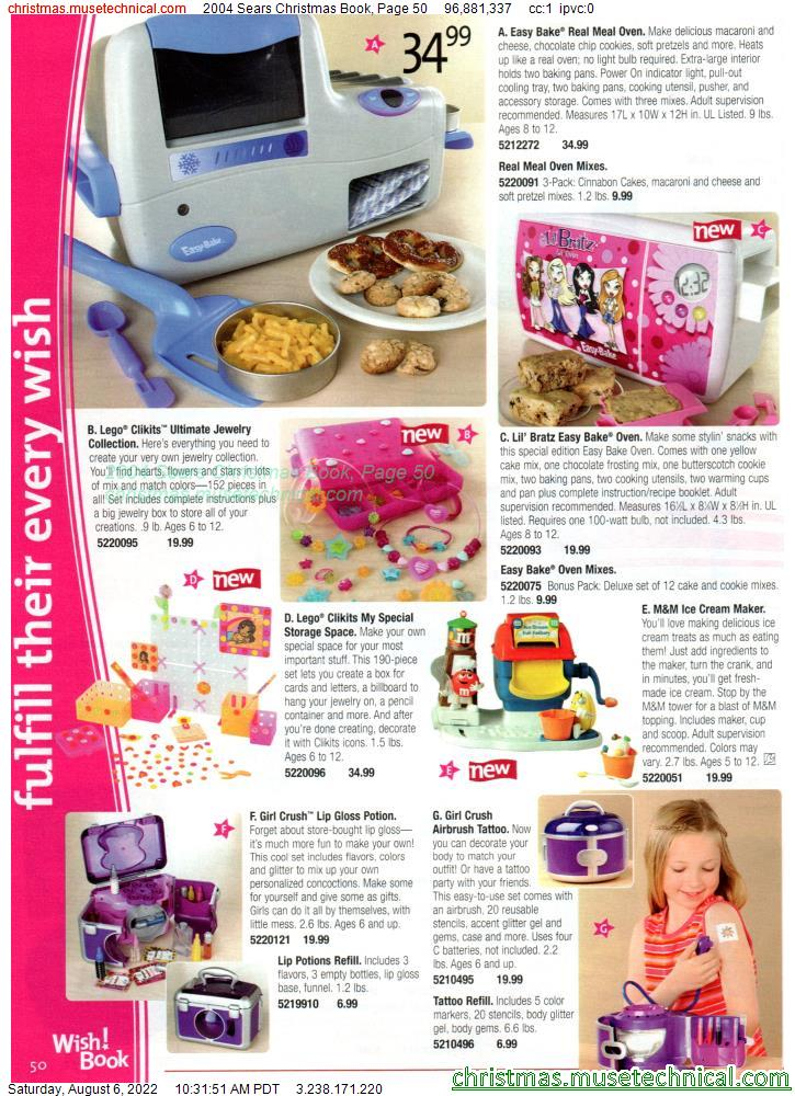 2004 Sears Christmas Book, Page 50