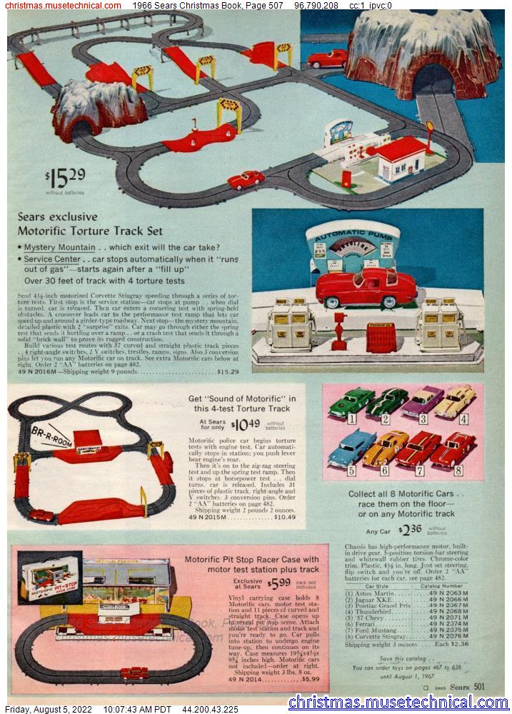 1966 Sears Christmas Book, Page 507