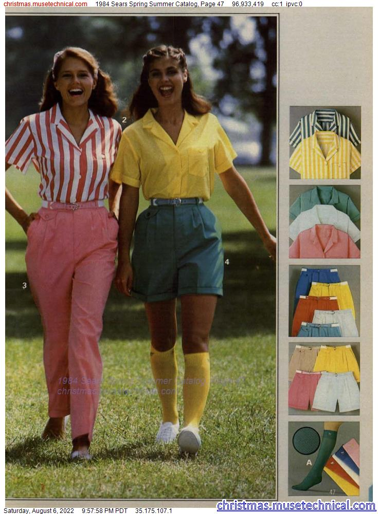 1984 Sears Spring Summer Catalog, Page 47