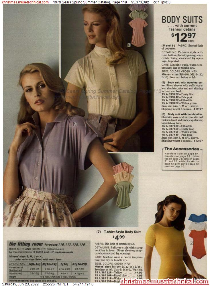 1979 Sears Spring Summer Catalog, Page 118