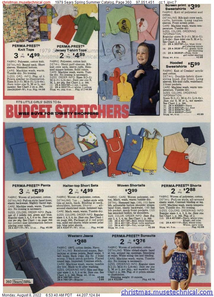 1979 Sears Spring Summer Catalog, Page 360
